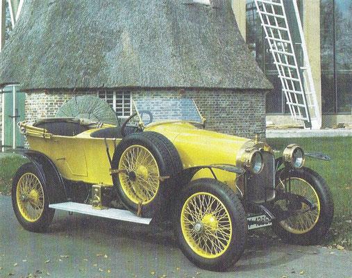 Audi Alpensieger type C uit 1911.