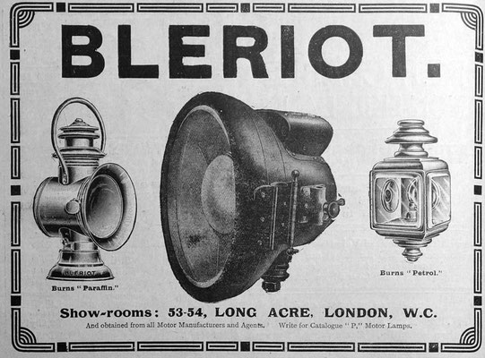 Advertentie Blériot, 1906