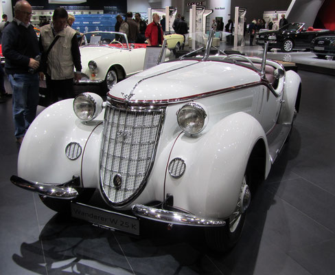 Wanderer W 25 K. (Techno Classica 2015 in Essen)