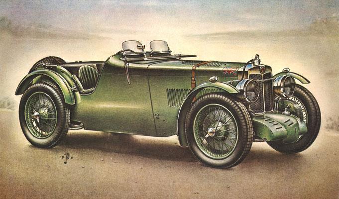 M.G. J4, 1933.