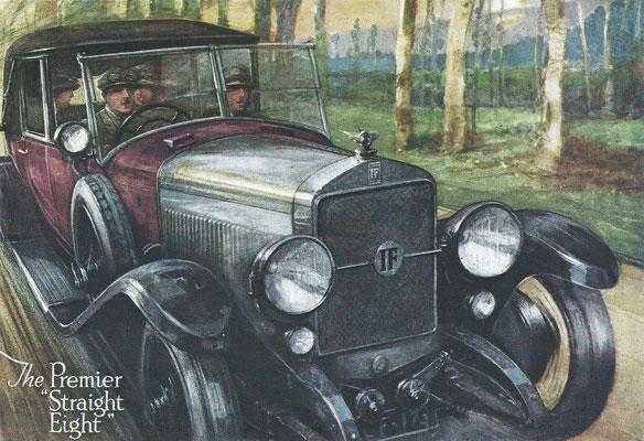 Een Engelse advertentie voor Isotta Fraschini .
