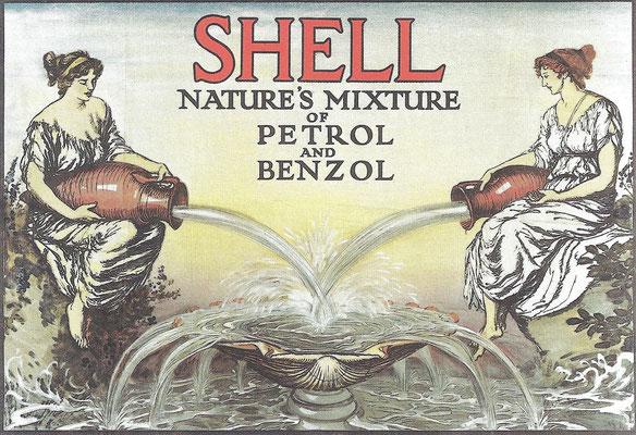 Een poster van Shell uit 1932.