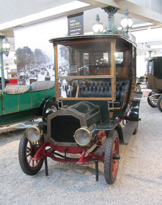 De Dion-Bouton Coupé-Chauffeur Type BS uit 1909 (Collection Schlumpf).