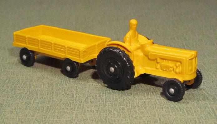 Tractor, no.750/19, Trailer, no.750/20 (1965-1978)