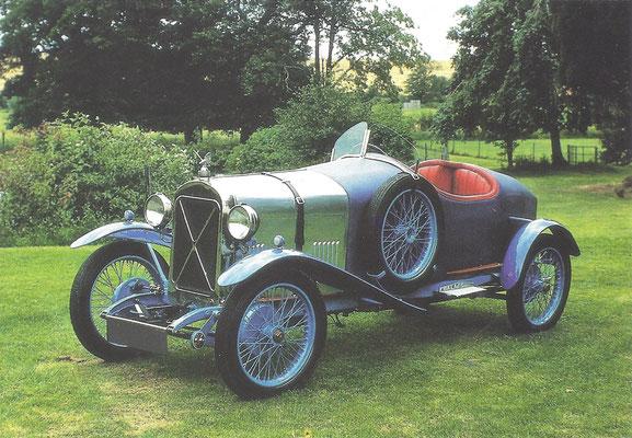 Een Salmson Grand Sport uit 1929.