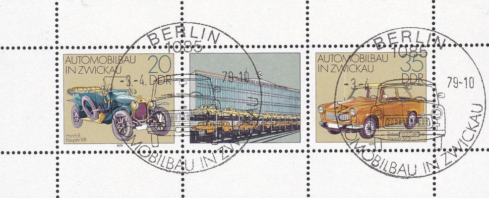 Postzegels DDR uit 1979.