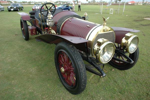 Hotchkiss Type AD Gentlemans Roadster uit 1912 met een carrosserie van Vanvooren.