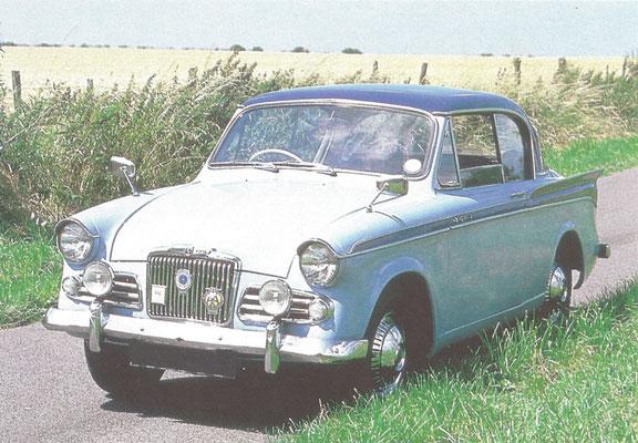 Een Sunbeam Rapier Serie III (1956-1967).