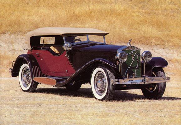Een Isotta Fraschini Tipo 8A uit 1930 met een carrosserie van Castagna.