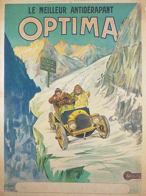 Advertentie van Optima banden.