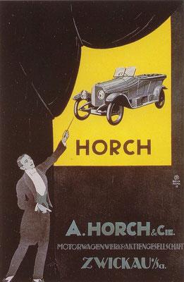 Reclame van Horch.