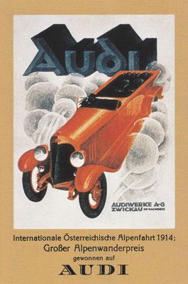 Recame van Audi.