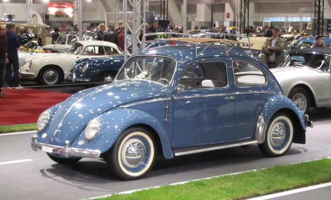 Volkswagen Kever uit 1958. (Interclassics Brussels 2018)