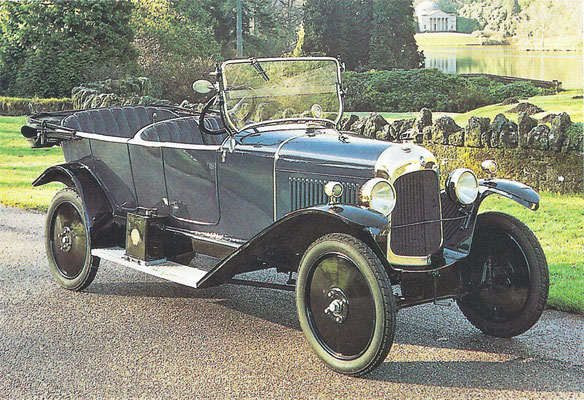 Citroën B2 uit 1923.