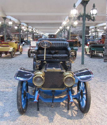 Peugeot Double Phaeton Type 78A uit 1906 (Collection Schlumpf).