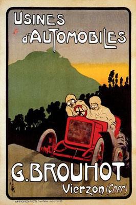 Een affiche van Brouhot.