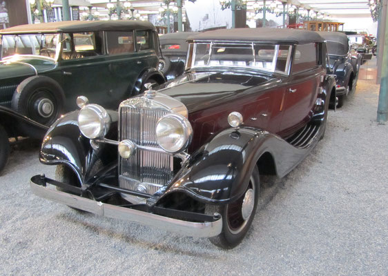 Horch Cabriolet Type 670 uit 1932 (Collection Schlumpf).