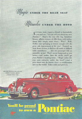Advertentie Pontiac.