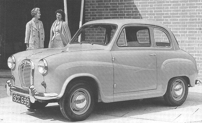 Een Austin A30 uit 1952.