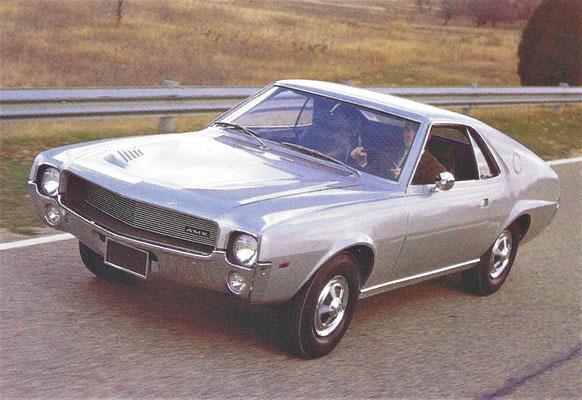 AMC coupé AMX, gebouwd van 1968 tot 1970.