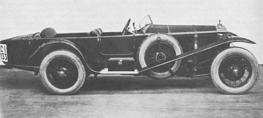 Steyr Type Klausen Sport, 4,9 liter 150 pk.