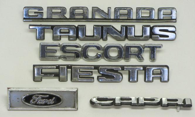 Ford emblemen.