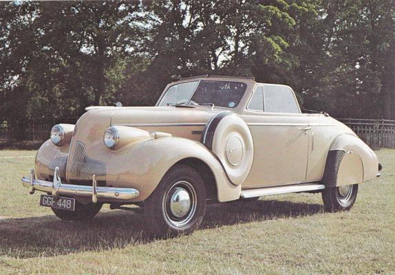 Buick Special uit 1939.