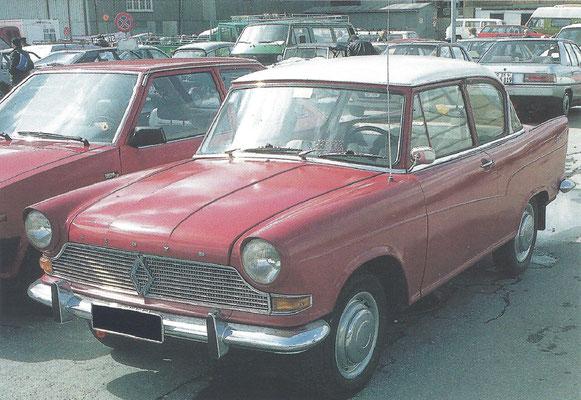 Een Lloyd Arabella, gebouwd van 1959 tot 1963.