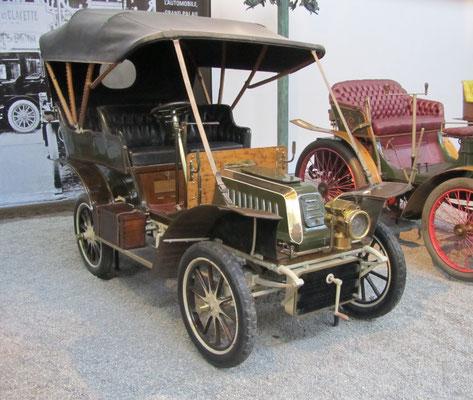 De Dion Bouton Tonneau Type AL uit 1906 (Collection Schlumpf).