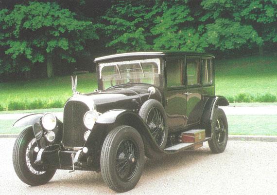 Een Voisin C1, gebouwd van 1919 tot 1921.