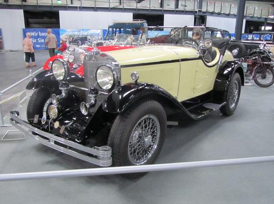 Mercedes Benz 400 K uit 1927. (Technik Museum Sinsheim)