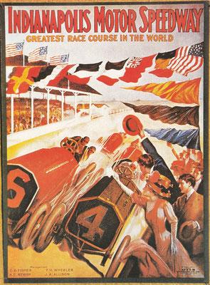 Indianapolis opende in 1909 en hield in 1911 de eerste 500-mile race.