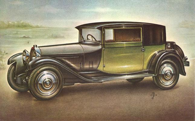Bugatti Type 44, 1928.