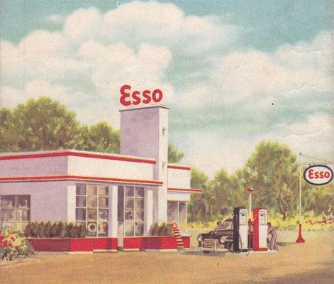 Esso Standard, België en Luxemburg.