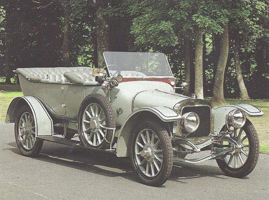 Sunbeam 12-16 HP uit 1912.
