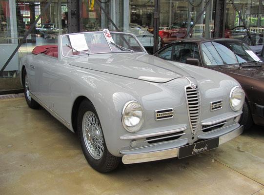 Alfa Romeo 6C 2500 SS PininFarina uit 1948. (Classic Remise Düsseldorf)