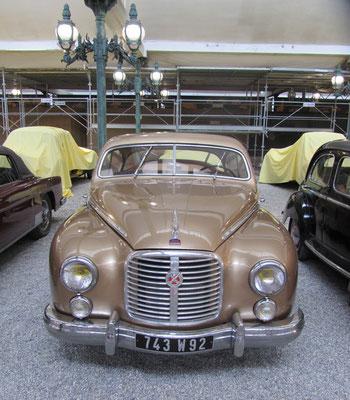 Hotchkiss-Gregoire Coach uit 1951-1953 (Collection Schlumpf).