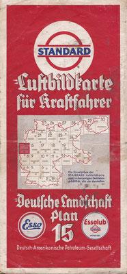 Luftbildkarte für Kraftfahrer, Standard, Deutsche Landschaft, Plan 15 (vóór 1940).