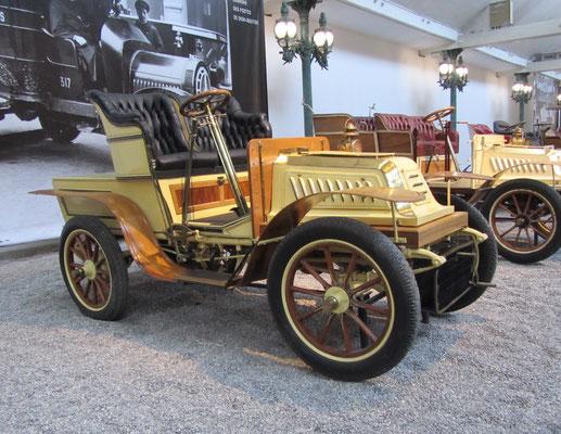 De Dion Bouton Biplace Type S uit 1903 (Collection Schlumpf).