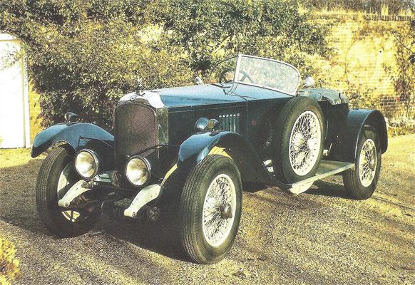 De Vauxhall 30 98 OE was een concurrent voor Bentley.