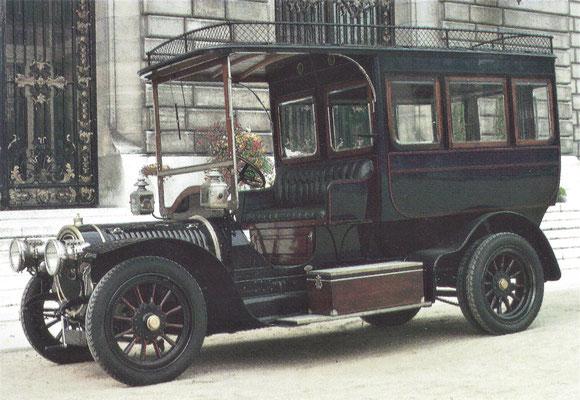 Delaunay-Belleville 15 HP Omnibus d'Hotel.