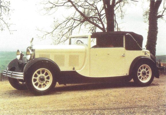 Rolland Pilain HL 8 uit 1931/1932 met een carrosserie van Macquet-Galvier.
