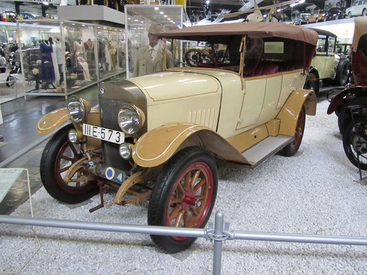 NSU 840 uit 1914. (Technik Museum Sinsheim)