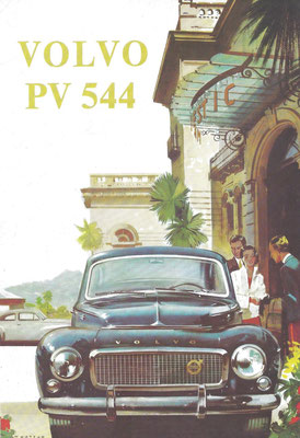 Advertentie Volvo PV 544.