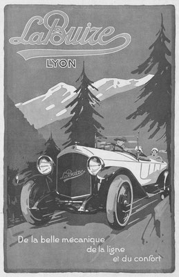 Franse advertentie van La Buire in l'Illustration uit 1922.