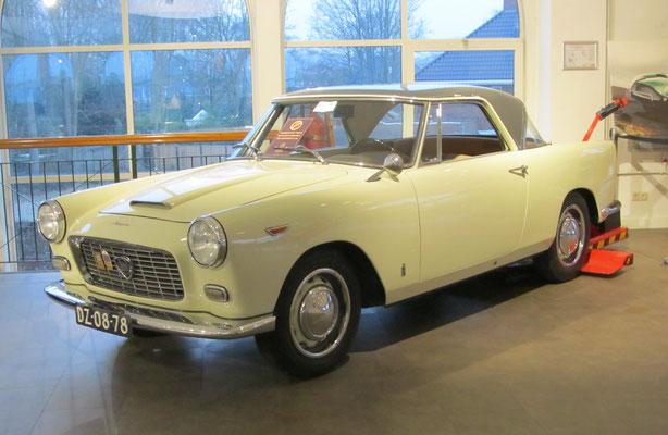 Lancia Appia Serie III Pininfarina uit 1959. (Gallery Aaldering)