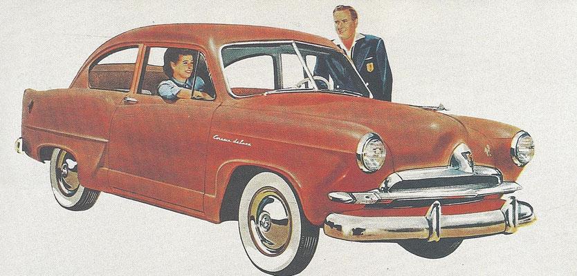 Een Kaiser Henry J uit 1952.