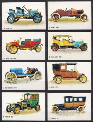 Plaatjes uitgegeven door Bolletje (beschuit) 9 t/m 16.
