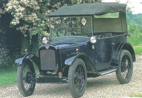 Austin 7, gebouwd van 1922 tot 1932.