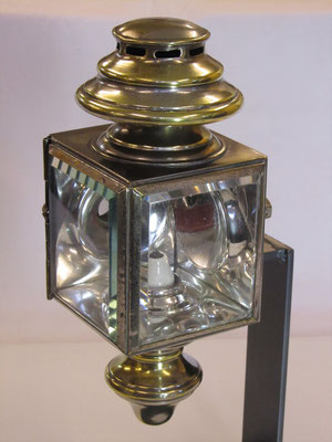 Olie zij-lamp (oil side-lamp) van B.R.C.